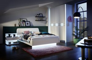 luxury interiors with fitted wardrobes